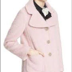 Kate Spade Jewel Button Wool Coat